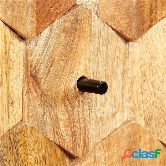 Mueble para la televisión de madera de mango maciza