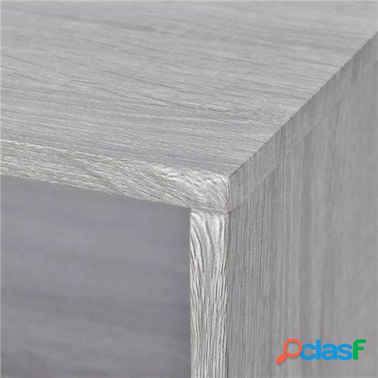 Mueble para la televisión/mesa de centro 110x50x40 cm gris