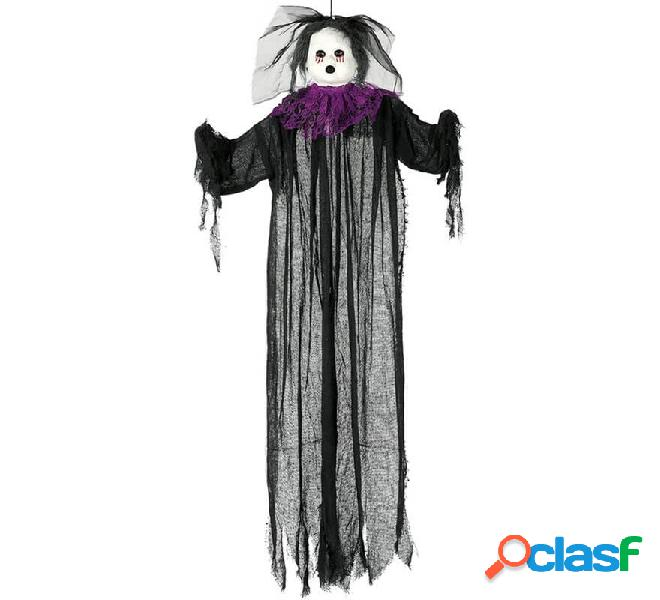 Muñeca Negra Colgante 130 cm