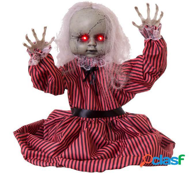 Muñeca Zombie con Luz, Sonido y Movimiento de 80x23x83 cm