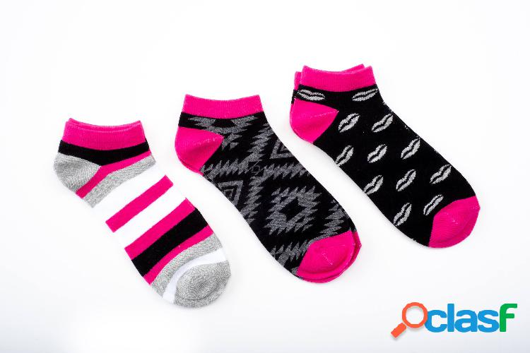 Pack 3 pares calcetines mujer fantasia