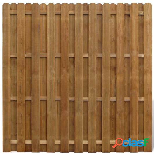 Panel de valla de jardín vertical madera FSC