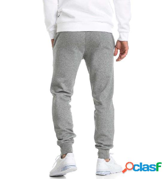 Pantalon Chandal Casual Puma Ess Logo Pants Fl Gris L