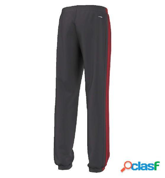 Pantalon Fitness Adidas Yb Ess 3s Br Pc Neguti/rojint 140