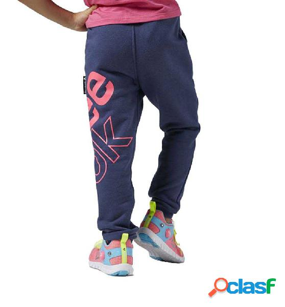 Pantalon Fitness Reebok G Es Fl Pant Bliuink M Negro