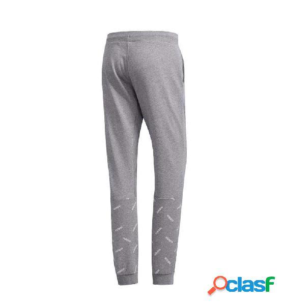 Pantalon Largo Casual Adidas M Aop Tp Gris S