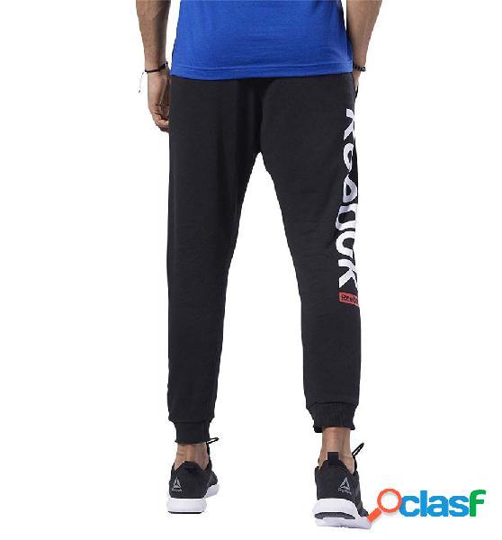 Pantalones Casual Reebok Te Big Logo Jogger M Negro