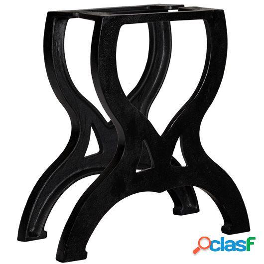 Patas mesa de centro en hierro fundido 2 unidades forma X