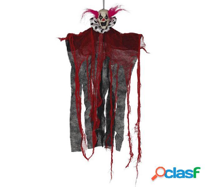 Payaso Rojo y Negro Colgante de 60 cm