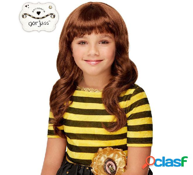 Peluca Castaña de Muñeca Bee Loved Gorjuss Santoro para