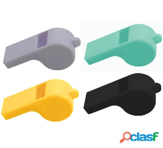 Pito de plástico de colores variados. Precio por unidad.
