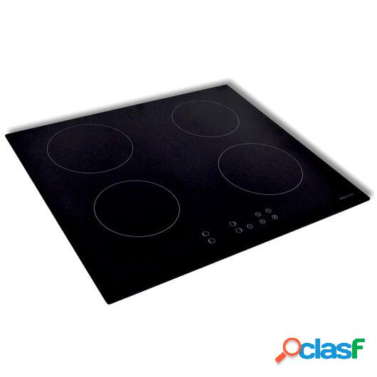 Placa de inducción de vidrio 50340 con 4 quemadores