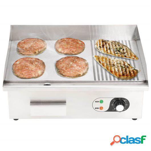 Plancha eléctrica de cocina acero inoxidable 3000 W