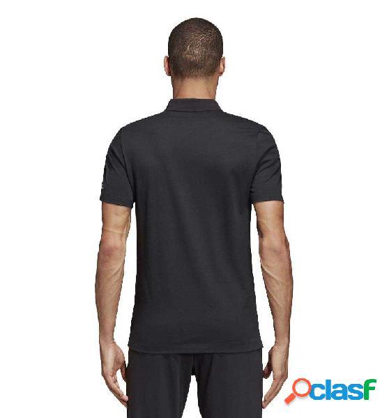 Polo Casual Adidas Mh Plain Polo Negro Xl