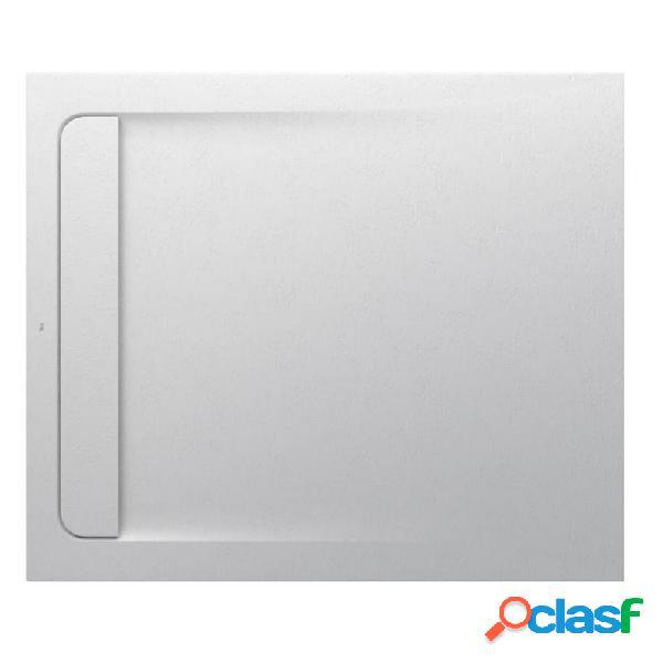 ROCA - Plato de ducha 100x80cm blanco roto Aquos Roca