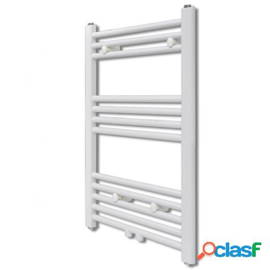 Radiador toallero de baño recto 600 x 764 mm