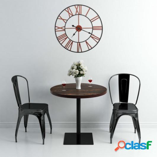 Reloj de pared de metal rojo 58 cm