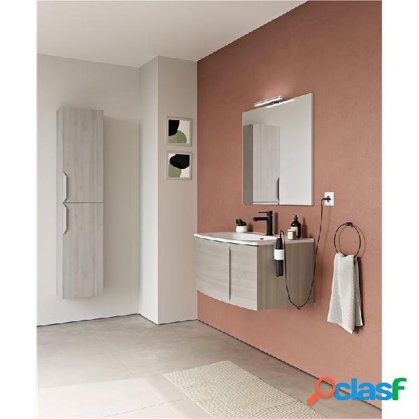 Royo® - Mueble de baño 1 cajón con lavabo cerámico Wave