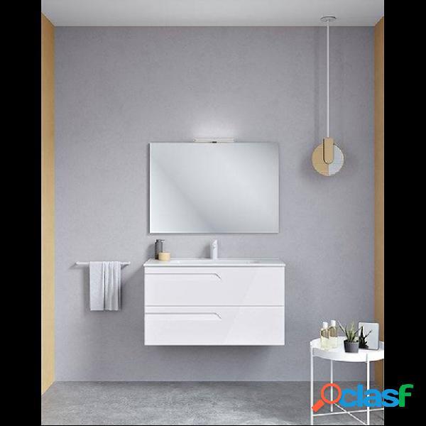 Royo® - Mueble de baño 2 cajones con lavabo cerámico