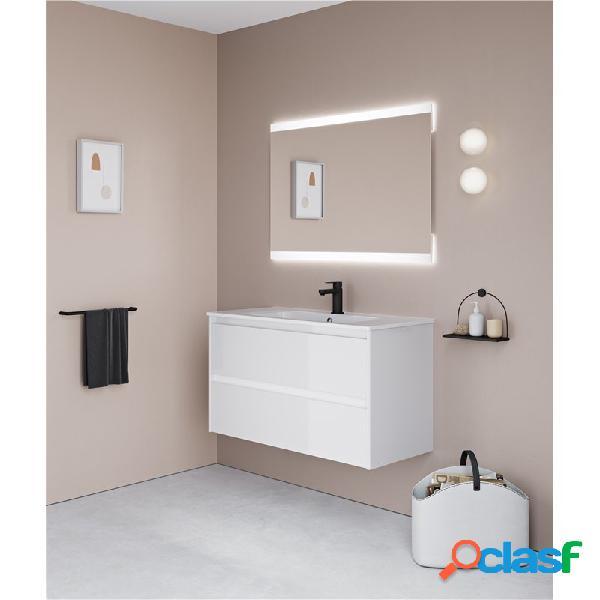 Royo® - Mueble de baño 2 cajones con lavabo cerámico Alfa