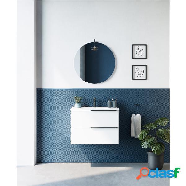 Royo® - Mueble de baño 2 cajones con lavabo cerámico MIO