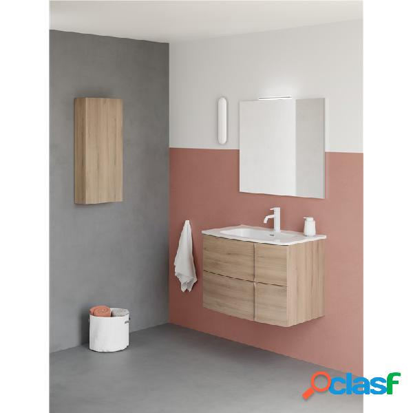 Royo® - Mueble de baño 2 cajones con lavabo cerámico Wave