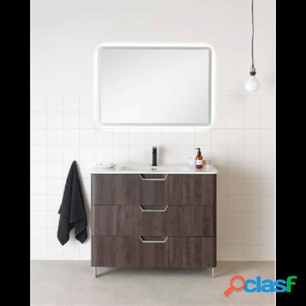 Royo® - Mueble de baño 3 cajones con lavabo cerámico 80 o