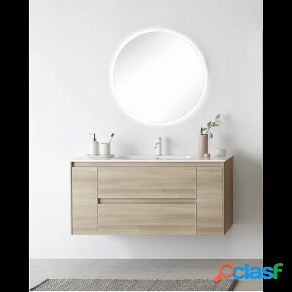 Royo® - Mueble de baño con lavabo mineralmarmo 120cm Alfa
