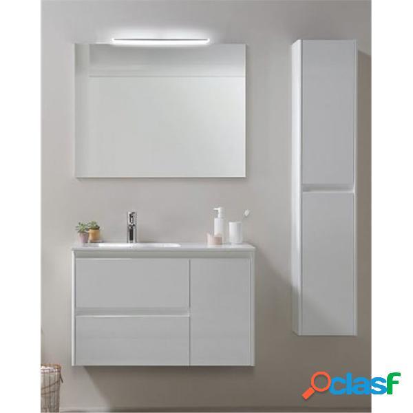Royo® - Mueble de baño con lavabo mineralmarmo 90cm Alfa