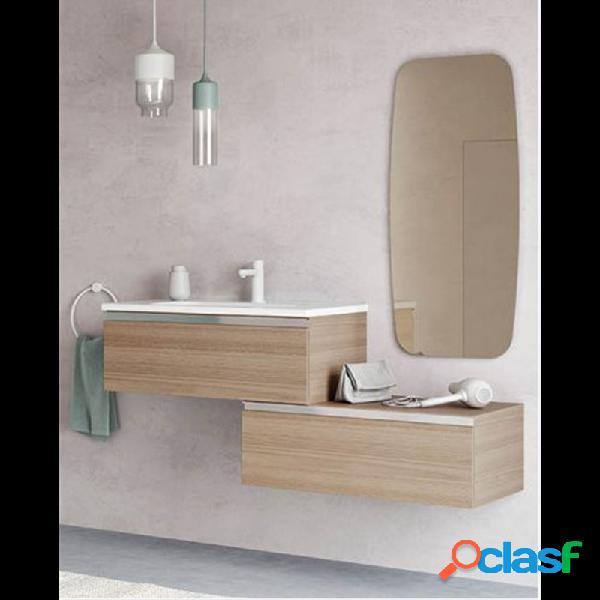 Royo® - Mueble de baño modular con lavabo cerámico 135cm