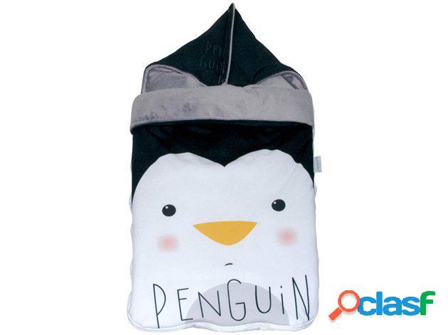 Saco Capazo Bebé Pingüino Pekebaby