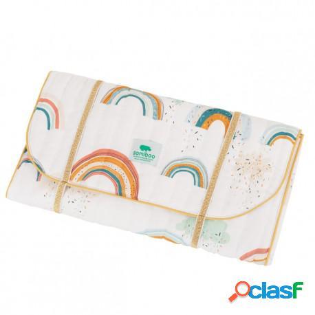 Samiboo - Cambiador Plegable Para Bebe Rainbow