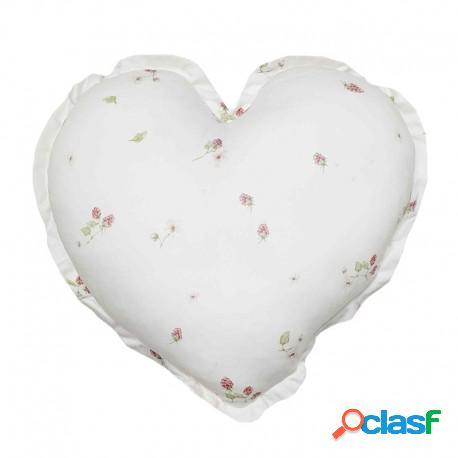 Samiboo - Cojín Decorativo Corazón Berries