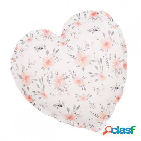 Samiboo - Cojín Decorativo Corazón In Bloom