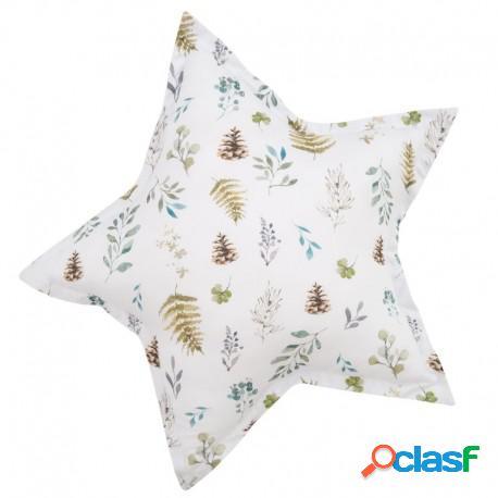 Samiboo - Cojín Decorativo Estrella Forest Adventure