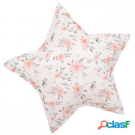Samiboo - Cojín Decorativo Estrella In Bloom