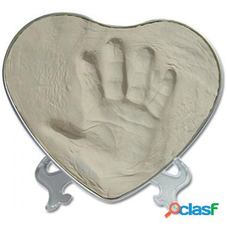 Saro - Caja Corazón Huella De Bebé Saro