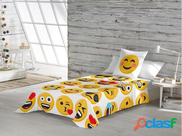 Sábanas Emoji Ily Algodón