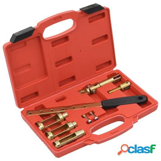 Set de herramientas compresor de muelles de válvula 8