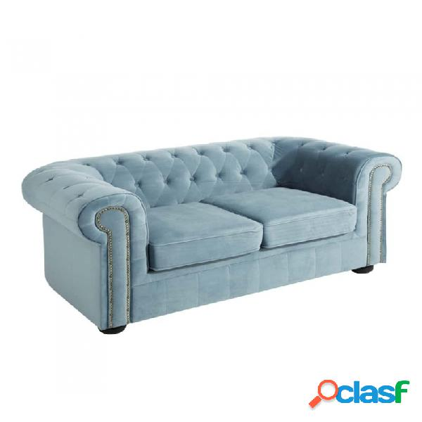 Sofá Azul Madera 168.00 X 95.00 75.00