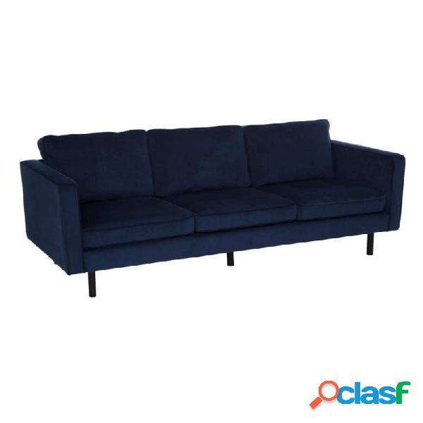 Sofá Azul Metal 207.00 X 86.00 87.00