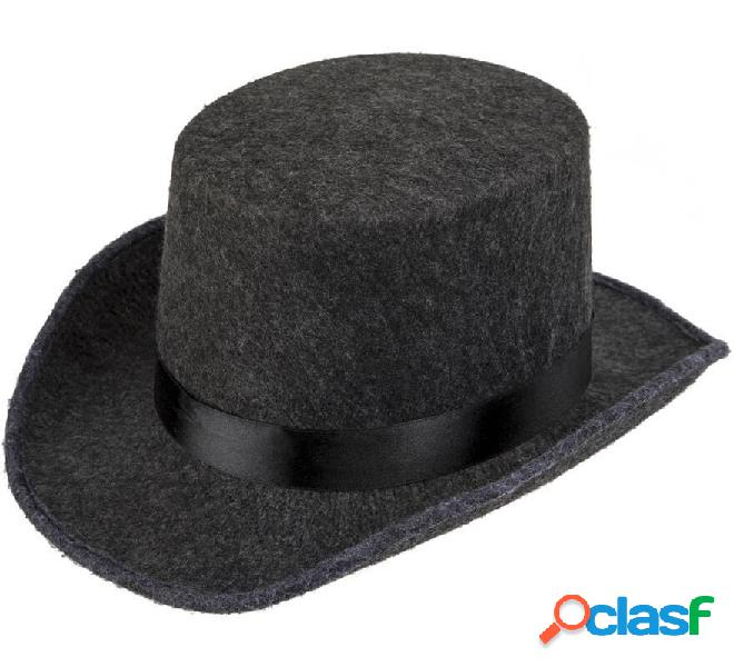 Sombrero de Fieltro Con Cinta Negra