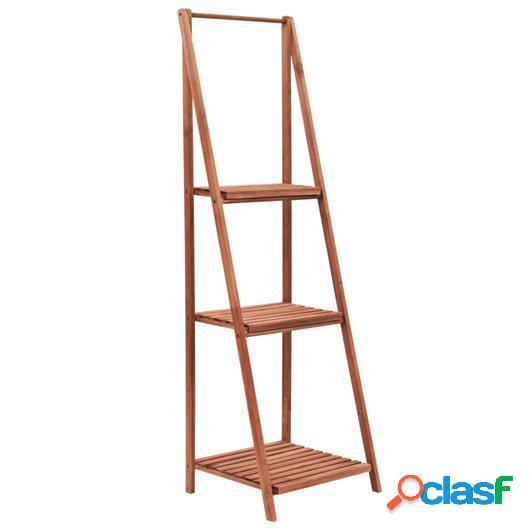 Soporte para plantas de madera de cedro 45x40x145 cm