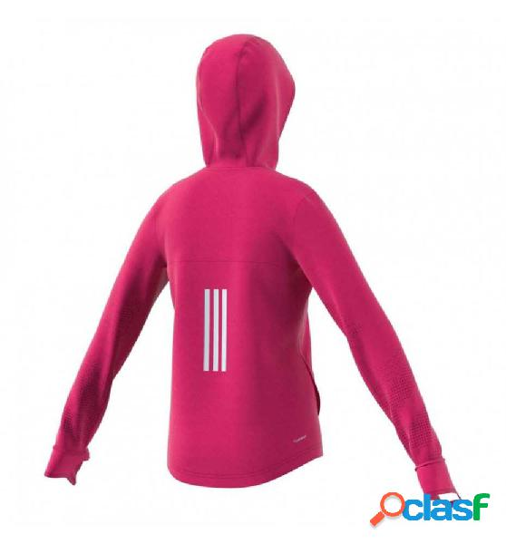 Sudadera Con Capucha Casual Adidas Yg Tr Fz Hoodie 140 Rosa