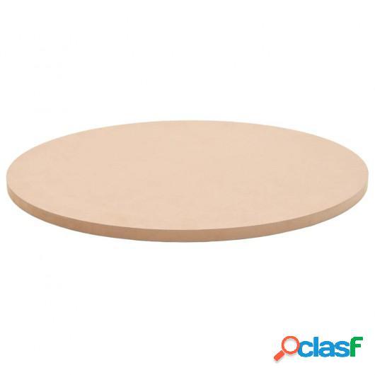Tablero de mesa redondo MDF 500x18 mm