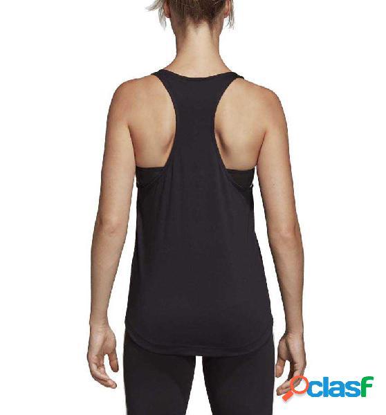 Tank Fitness Adidas Essentials Linear L Negro