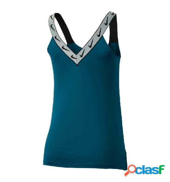 Tank Fitness Nike Dri-fit Azul Marino S