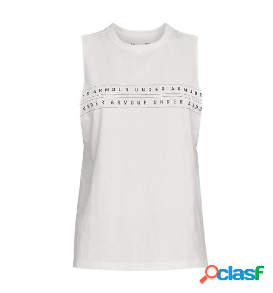 Tank Fitness Under Armour Graphic Wm Muscle Gris M