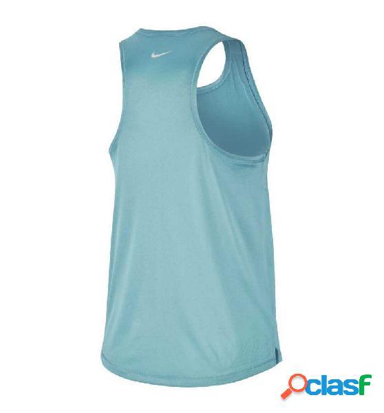 Tank Running Nike W Nk Swoosh Run Tank Azul M