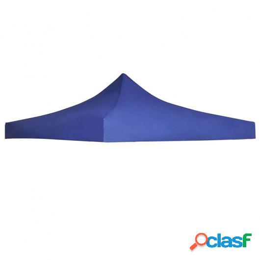 Techo de carpa para celebraciones 3x3 m azul
